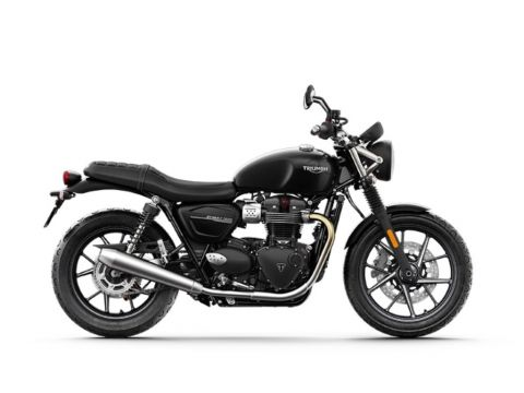 New 2020 Triumph Street Twin 900 Jet Black