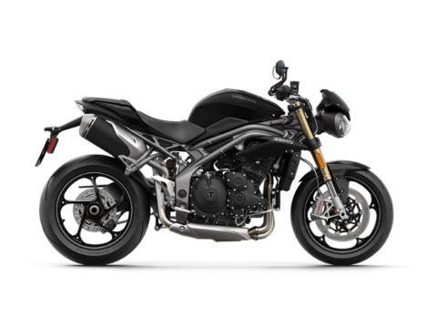 2019 Triumph Speed Triple S Jet Black