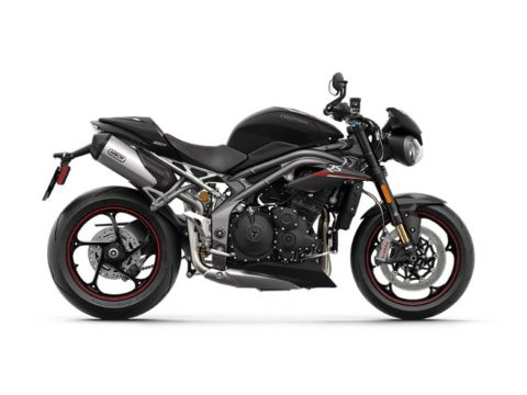 2020 Triumph Speed Triple RS Matte Jet Black